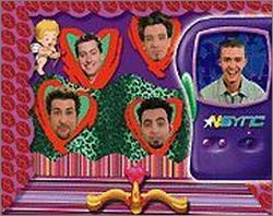 Pantallazo de *NSYNC Hotline Fantasy Phone and CD-ROM Game para PC