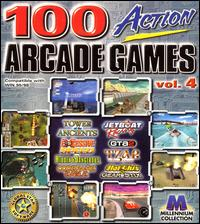 Caratula de 100 Action Arcade Games: Vol. 4 para PC