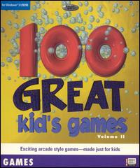 Caratula de 100 Great Kid's Games: Volume II para PC