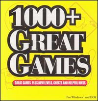 Caratula de 1000+ Great Games para PC