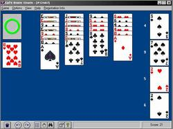 Pantallazo de 1000 Best Solitaire Games para PC