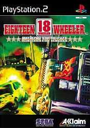 Caratula de 18 Wheeler para PlayStation 2