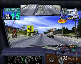 Pantallazo de 18 Wheeler para PlayStation 2