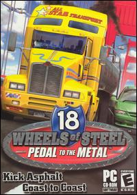 Caratula de 18 Wheels: Pedal to the Metal para PC