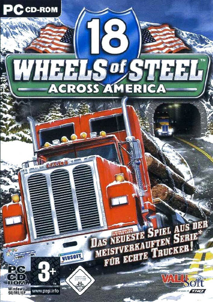 Caratula de 18 Wheels of Steel: Across America para PC