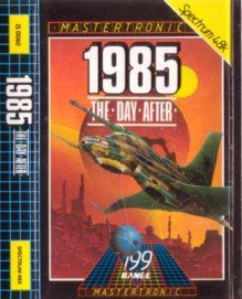 Caratula de 1985 - The Day After para Spectrum