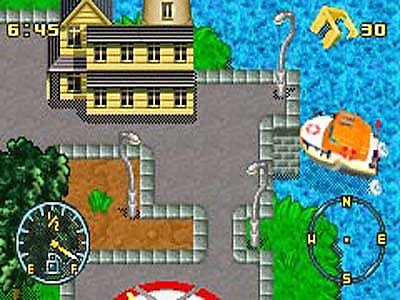 Pantallazo de 2 Game Pack: Matchbox Missions -- Emergency Response/Air, Land, & Sea Rescue para Game Boy Advance