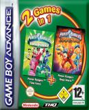 Carátula de 2 Games in 1 - Power Rangers Gamepack