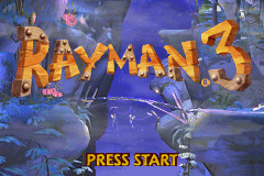 Pantallazo de 2 Games in 1 - Rayman 10th Anniversary Compilation - Rayman Advance & Rayman 3 para Game Boy Advance