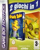 Caratula nº 27415 de 2 Games in 1 - Shark Tale + Shrek 2 (500 x 500)