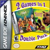 Caratula de 2 Games in 1 Double Pack: Scooby Doo [2006] para Game Boy Advance