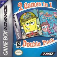 Caratula de 2 Games in 1 Double Pack: SpongeBob SquarePants & Fairly OddParents para Game Boy Advance