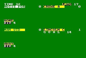 Pantallazo de 2 Player Super League para Amstrad CPC
