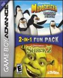 Carátula de 2 in 1 Game Pack: Shrek 2 and Madagascar: Operation Penguin