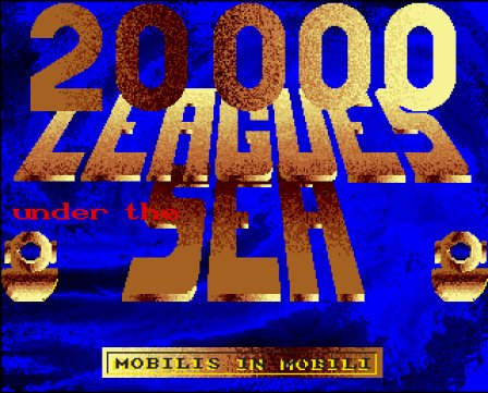 Pantallazo de 20,000 Leagues Under The Sea para Amiga