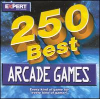 Caratula de 250 Best Arcade Games [Jewel Case] para PC