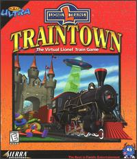 Caratula de 3-D Ultra TrainTown para PC