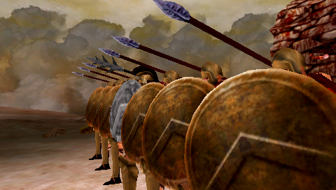 Pantallazo de 300: March to Glory para PSP