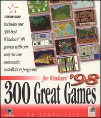 Caratula de 300 Great Games for Windows '98: Version 2.0 para PC
