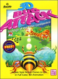 Caratula de 3D Bug Attack para PC