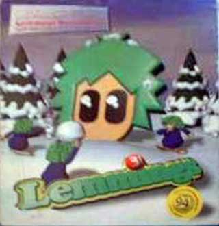 Caratula de 3D Lemmings Winterland para PC