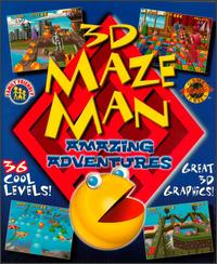 Caratula de 3D Maze Man: Amazing Adventures para PC