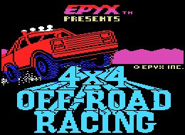 Pantallazo de 4x4 Off-Road Racing para MSX