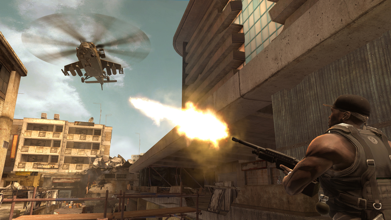 Pantallazo de 50 Cent: Blood on the Sand para PlayStation 3