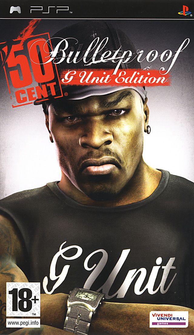 Caratula de 50 Cent: Bulletproof: G Unit Edition para PSP
