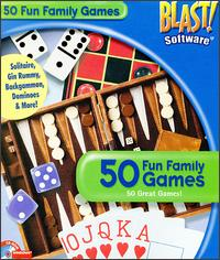 Caratula de 50 Fun Family Games para PC