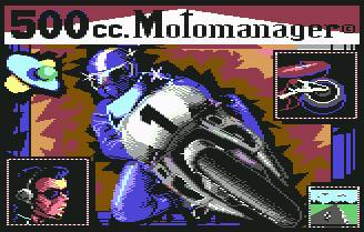 Pantallazo de 500 CC Motormanager para Commodore 64