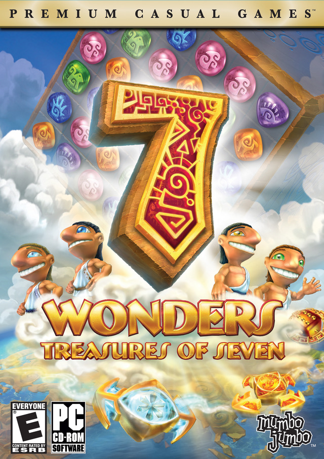 Caratula de 7 Wonders: Treasures of Seven para PC
