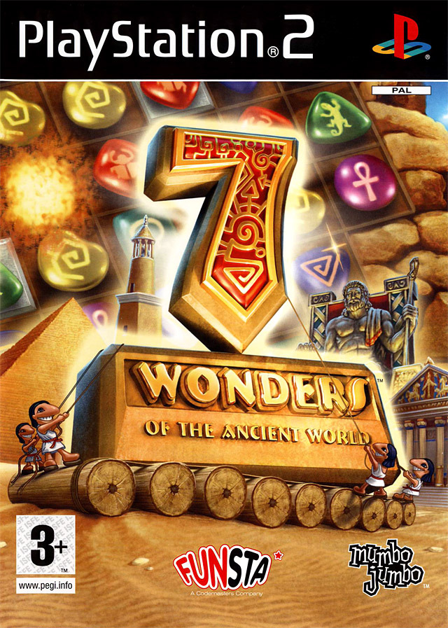 Caratula de 7 Wonders of the Ancient World para PlayStation 2