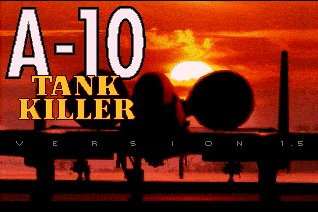 Pantallazo de A-10 Tank Killer Version 1.5 para Amiga