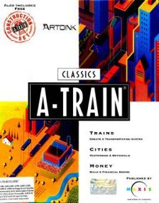 Caratula de A-Train & Construction Set para Amiga