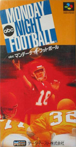 Caratula de ABC Monday Night Football (Japonés) para Super Nintendo