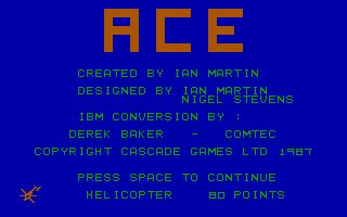 Pantallazo de ACE: Air Combat Emulator para PC