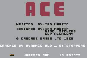 Pantallazo de ACE - Air Combat Emulator para Commodore 64