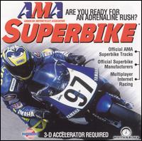 Caratula de AMA Superbike [Jewel Case] para PC