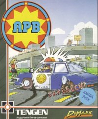 Caratula de APB: All-Points Bulletin para Atari ST