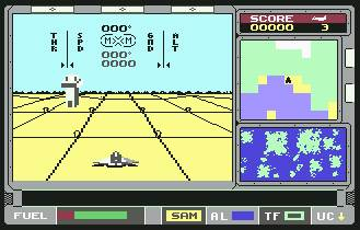 Pantallazo de ATF Advanced Tactical Fighters para Commodore 64
