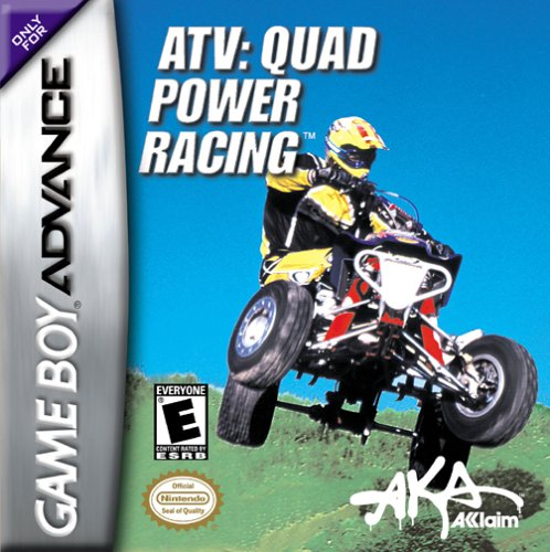 Caratula de ATV: Quad Power Racing para Game Boy Advance