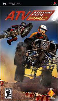 Caratula de ATV Off Road Fury Pro para PSP