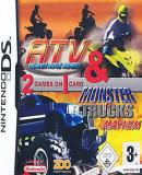 Carátula de ATV Thunder Ridge Riders & Monster Trucks Mayhem