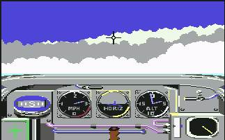 Pantallazo de Ace of Aces para Commodore 64