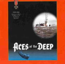 Caratula de Aces of the Deep para PC
