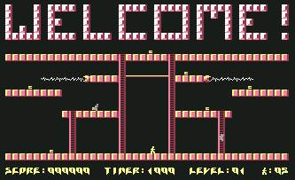 Pantallazo de Acid Runner para Commodore 64