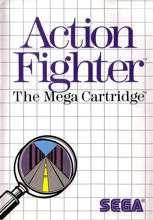 Caratula de Action Fighter para Sega Master System