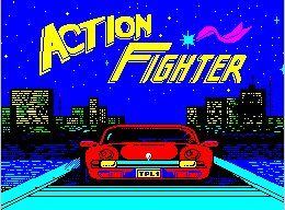 Pantallazo de Action Fighter para Spectrum