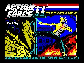 Pantallazo de Action Force 2 para Spectrum